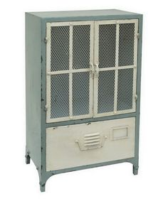 Another great find on #zulily! 34'' Metal Cabinet #zulilyfinds