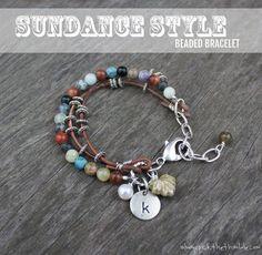 Sundance Style Beaded Bracelet | DIY Beaded Bracelets You Bead Crafts Lovers Should Be Making