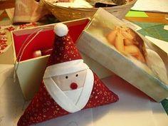 Santa ornament: