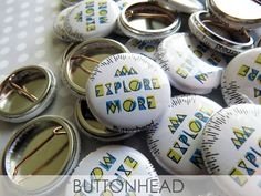 1.5 inch Custom Button PINS Badges 50 Promos Image Art Logo save the date party favors shower wedding gifts flair stocking stuffers