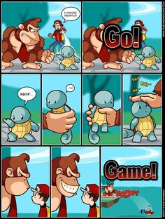 hahaha what super smash brothers never thought about this XD hahah