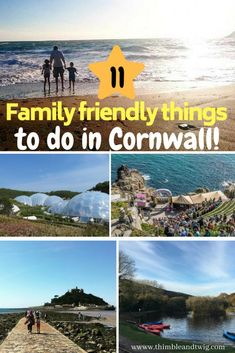 Top family friendly things to do in cornwall. Days out and activities to do with kids in Cornwall. Top family friendly things to do in cornwall. Ideas for kids to do in cornwall. UK holiday destinations for family holidays. Cheap Days Out, Days Out With Kids, Family Days Out, Uk Destinations, Family Holiday Destinations, Travel With Kids, Family Travel, Toddler Travel, Quirky Places To Stay