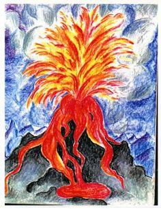 Waldorf ~ 6th grade ~ Geology & Mineralogy ~ Volcano