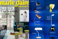 Find the one that turns you on _ could be the Billy TL Ilse Crawford Edition table lamp for Marie Claire Maison