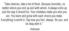 Be you, and be okay with it!
