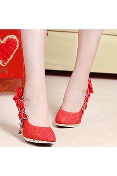 8CM Women Bridal Wedding High Heels Glitter Flowers Shoes Crystal Dance Party | ราคา: ฿629.00 | Brand: Unbranded/Generic | See info: http://www.topsellershoes.com/product/32855/8cm-women-bridal-wedding-high-heels-glitter-flowers-shoes-crystal-dance-party
