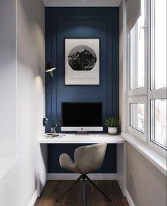 Home Office Design Diy Home Study Design, Design Room, Design Desk, Condo Design, Home Office Space, Home Office Desks, Office Furniture, Furniture Ideas, Cafe Furniture