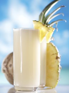 Who said you can't enjoy a tropical cocktail after summer?! Mix up a Tequila Tropical! Blend 0.5 oz. Don Julio® Reposado Tequila, 0.5 oz. Ketel One® Vodka, 0.5 oz. light rum, 2 oz. pineapple juice, 1 oz. orange juice, 0.5 oz. cream of coconut, garnish with a pineapple. #summer #tropical #DonJulio #tequila #KetelOne #vodka #cocktail #recipe
