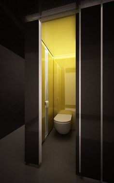 Toilet Tori Tori Restaurant At Mexico City By Rojkind Arquitectos And Hector Esrawe