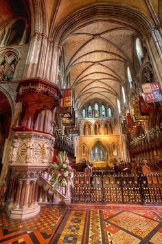 √St. Patrick Cathedral Dublin Ireland