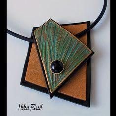 "Featuring texture stamp ""Radiating Rays Helen Breil Designs featuring my work, texture stamps, tutorials and my ebook, Shapes-25 Inspirational Jewellery Designs in Poymer Clay"