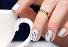 Not a fan of over-the-top or glitter nail art? These beautiful minimalist nail art designs are worth booking your next appointment for.