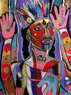 Indian Affairs Puppet | George Littlechild – Canadian First Nations Artist (Cree)