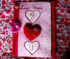 Handmade Card 1st Page