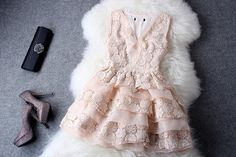 This pink lace dress is very stylish and elegant and if you want to stand out from the rest i guarantee you will not see these on the high street there unique to highheelhaven