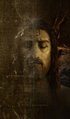El Santo Rostro de Jesús .Imagen tomada del sudario de Turin por Ray Downing