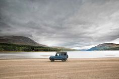 Camping On The Mountains and Beaches Of Scotland with a Land Rover Defender #LandRoverDefender #Scotland #Adventure