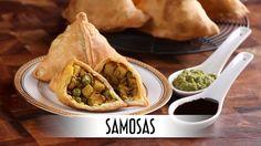 Samosas - Savory Fried Indian Appetizer; https://aramon65.wordpress.com/2017/02/09/samosas-savory-fried-indian-appetizer/