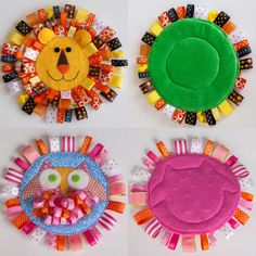 Lion and Owl - Baby Sensory Tag Toys