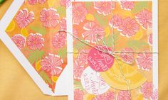 Floral Destination Wedding Invitations by Sparkvites via Oh So Beautiful Paper (7)