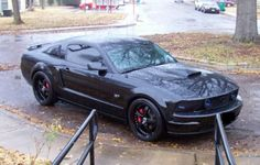2007 Mustang GT Blacked out - Blacked out grille - HID lights