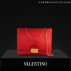 Buy a beautiful red leather Valentino, believe us this bag will give you an elegant look