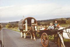 Irish Travellers 1965.  From the flickr stream of MajorCalloway.