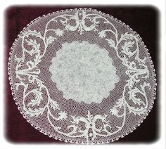 Orvieto lace - a form of crochet