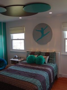 gymnast room ideas   Makeover of a young gymnast's bedroom   Project Dragonfly   Duaine ...