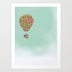 Buy Up by Derek Temple as a high quality Art Print. Worldwide shipping available at Society6.com. Just one of millions of products available.