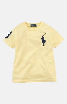 Polo Ralph Lauren T-Shirt (Toddler Boys) available at #Nordstrom *For Tanner