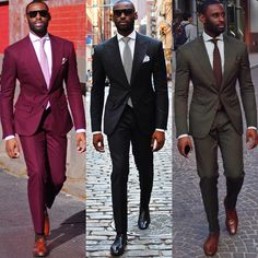 Groom Suit Wedding Suits For Men 2016 Mens Striped Suit Wedding Groom Tuxedo Suit Black Burgundy Wedding Tuxedos For Men plus si Black Men Fashion Tips, Mens Fashion Suits, Mens Suits, Sharp Dressed Man, Well Dressed Men, 1950s Fashion Menswear, Costume Africain, Tuxedo For Men, Groom Tuxedo