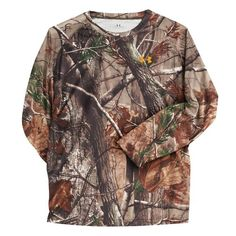 Under Armour® Boys' Evo HeatGear® Realtree AP Camo T-shirt