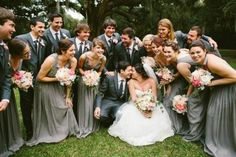 Sweetgrass Social wedding at Legare Waring House. Heather & Matt. Wedding party pictures.