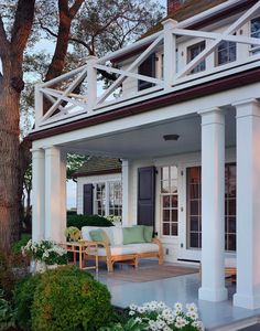 Southern porch ideas and decor by Sawyer Berson