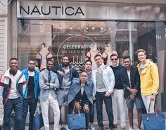 Great time this morning with the @GQ boys at the @nautica style-off 👌🏻…