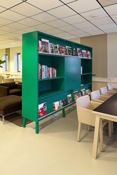 Interieur innovatief kantoor Draaijer+partners Groningen door Studio Groen+Schild