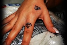 Tattoo Diamond can be a good choice for your finger tattoo. Choose your own through many tattoo ideas.