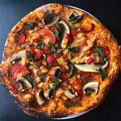 Who knew that vegan pizza is very much possible and is easily as good as the non-vegan version, and super easy, cheap and cheesy too!