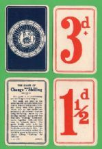 Collectible cards game. Change for a shilling #Ephemera  #followvintage