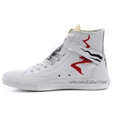 bed531bc4a7 Converse Helios Apollo White Leather Chuck Taylor All Star High Tops  Sneakers Free Shipping