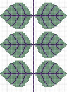 グスタフスベリ ベルサの図案 | Sabotenのアメブロ編 Cross Stitch Charts, Cross Stitch Patterns, Knit Patterns, Beading Patterns, Crochet Chart, Knit Crochet, Snitches Get Stitches, Tapestry Crochet, Knitting Charts