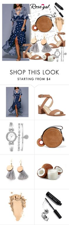"""""""Untitled #829"""" by merima-k ❤ liked on Polyvore featuring Nine West, Anne Klein, Carven and Bobbi Brown Cosmetics"""