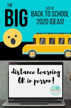 Distance learning back to school 2020 - online virtual resources at your fingertips - SSSTeaching Beginning Of The School Year, New School Year, Summer School, Back To School Activities, Learning Activities, Teaching Ideas, Back To School Ideas For Teachers, Teaching Math, Teacher Resources