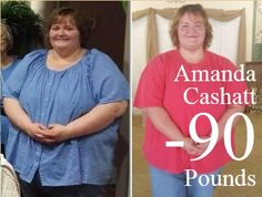 Amanda Cashatt lost 90 pounds with our completely homeopathic weight loss system!! Way to go Amanda!!!