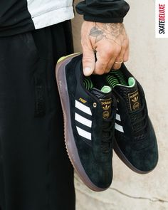 Terrace culture, high fashion and skateboarding: the new adidas Skateboarding Puig combines performance and a fresh look. Order the new Lucas Puig Pro shoes now! #skatedeluxe #SK8DLX Skate Shoe Brands, Skate Shoes, New Skate, Shoe Releases, Converse, Vans, Nike Sb, Skateboarding, Terrace