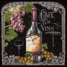 RB7631TS / Café de Vins Wine I / Tre Sorelle Studios