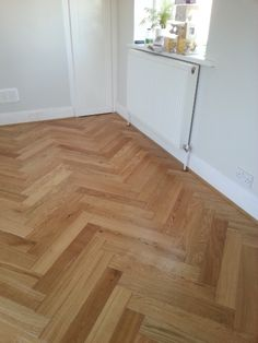 Parador TrendTime3 Herringbone Oak, installed by fitmywoodfloor in Sale Moor, Manchester, UK.