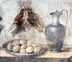 Patina, a Roman recipe for eggs from the oven Garden Warbler, Roman Food, Asparagus Soup, Roman Recipe, Small Birds, Fish Sauce, Egg Recipes, Oven Baked, Custard