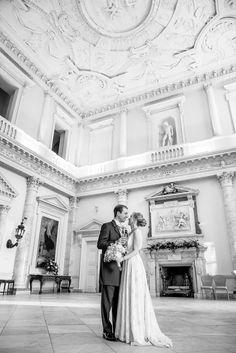 Clandon Park Wedding the Marble Hall
